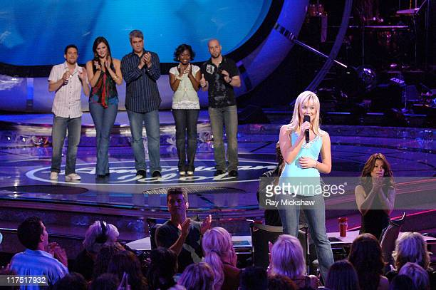 American Idol Season 5 Top 6 Finalists Elliott Yamin from Richmond Virginia Taylor Hicks from Birmingham Alabama Paris Bennett from Fayettesville...