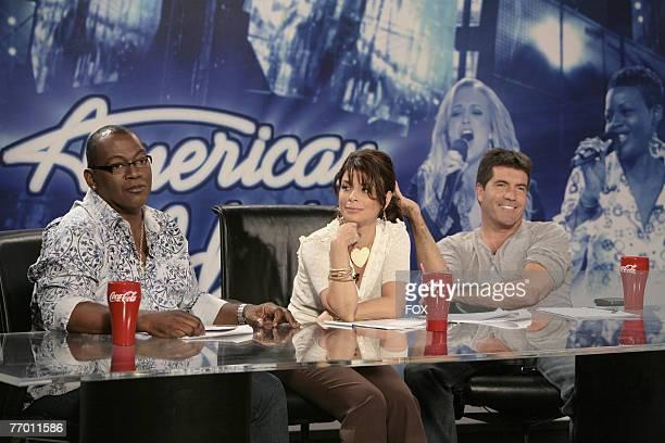 """American Idol"" Season 6 - Judges, Randy Jackson, Paula Abdul and Simon Cowell *EXCLUSIVE*"