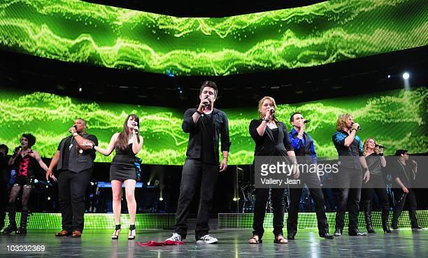American Idol season 9 contestant Siobhan Magnus Michael Lynche Katie Stevens Lee Dewyze Crystal Bowersox Aaron Kelly Casey James Didi Benami and...