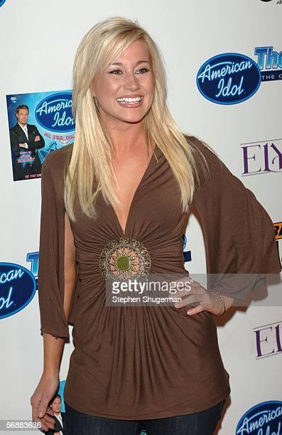 American Idol semifinalist Kellie Pickler attends the American Idol SemiFinalists Party at Cinespace on February 18 2006 in Hollywood California