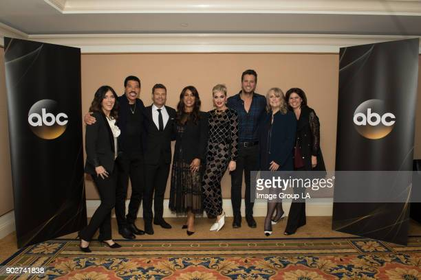 TOUR 2018 American Idol Session The cast and executive producers of American Idol addressed the press at Disney | Walt Disney Television via Getty...