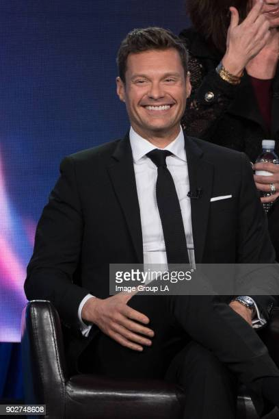 """American Idol"""" Session - The cast and executive producers of """"American Idol"""" addressed the press at Disney 