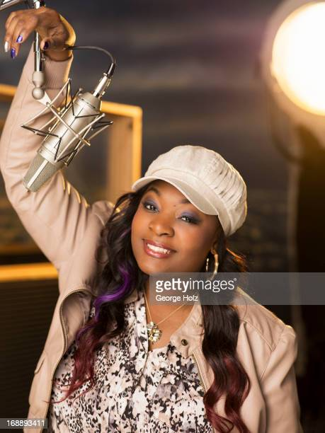 American Idol singer Candice Glover is photographed for Radical Media on March 29 2013 in Los Angeles California