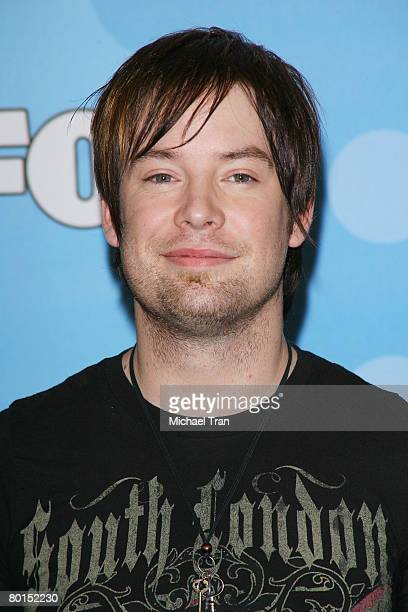 American Idol top 12 finalist David Cook arrives at Fox's American Idol meet the top 12 contestants party held at the Pacific Design Center on March...