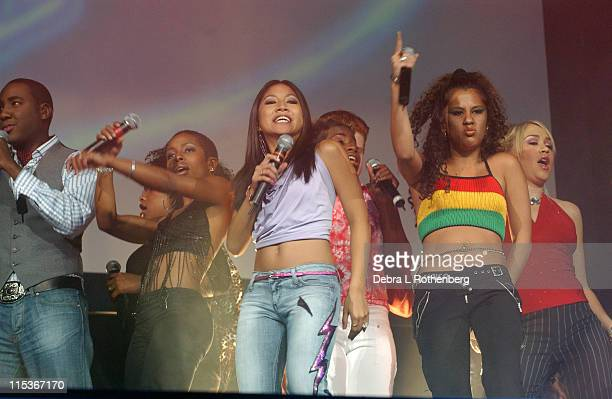 American Idol tour during American Idol 5 Live In Concert August 29 2004 at Continental Arena in East Rutherford New Jersey United States