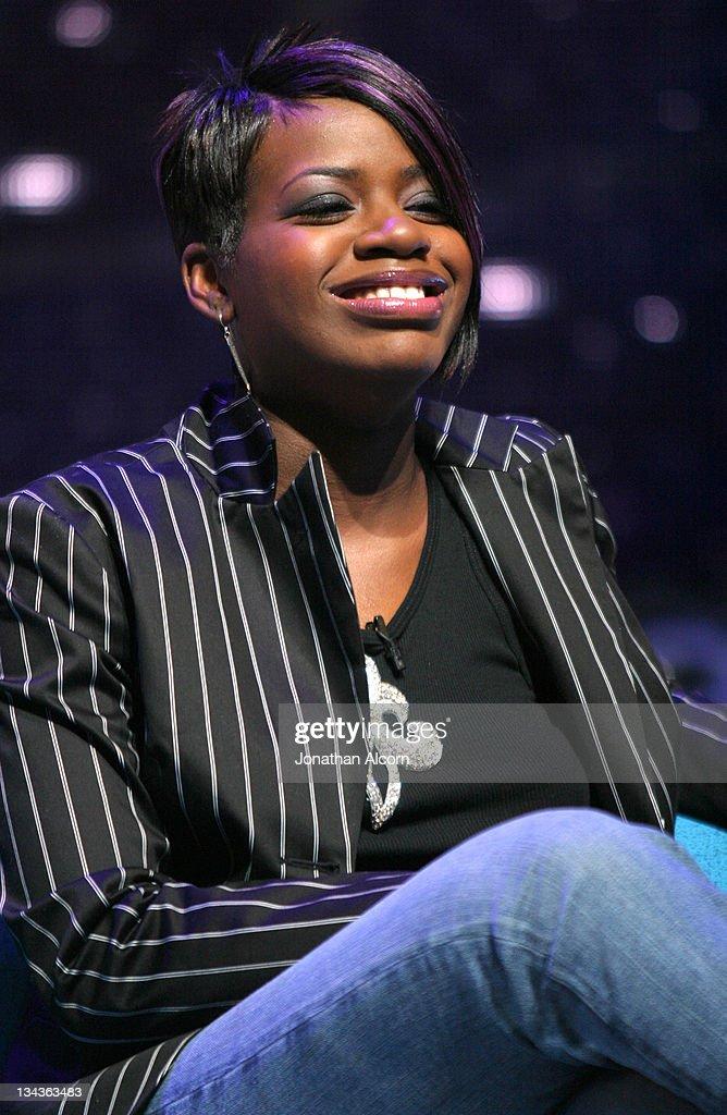 American Idol winner Fantasia Barrino during 'American Idol' Season 3 - Finalists Press Conference in Los Angeles, Calfornia, United States.
