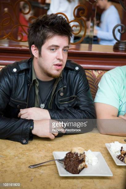 American Idol winner Lee Dewyze samples the Cheesecake Factory's newest addition Reese's Peanut Butter Chocolate Cake Cheesecake on National...