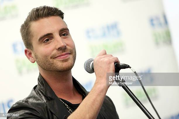 American Idol Winner Nick Fradiani performs on The Elvis Duran Z100 Morning Show at Z100 Studio on May 19 2015 in New York City