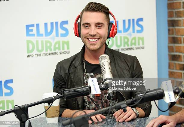 American Idol Winner Nick Fradiani visits The Elvis Duran Z100 Morning Show at Z100 Studio on May 19 2015 in New York City