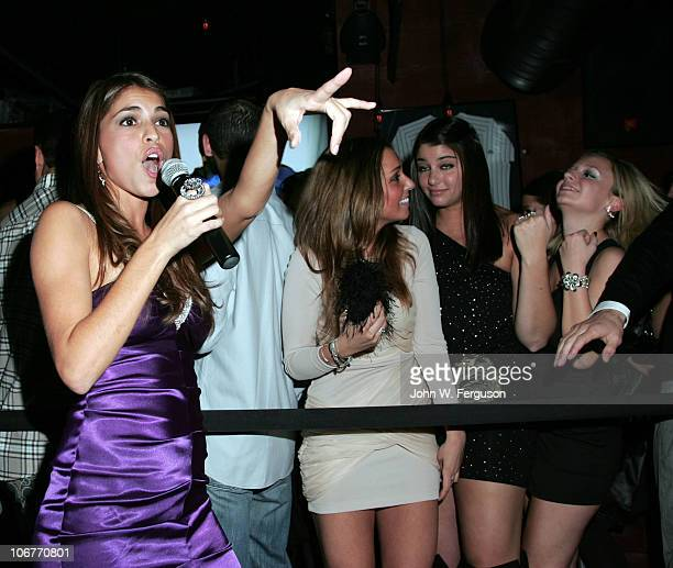 American Idol's Antonella Barba attends the opening of the 4th location of the Village Pourhouse on November 11 2010 in Hoboken New Jersey