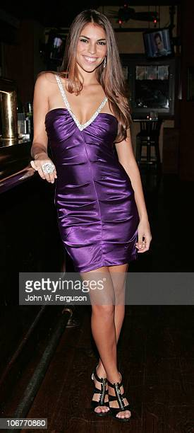American Idol's Antonella Barba attends the opening of the 4th location of the Village Pourhouse on November 11, 2010 in Hoboken, New Jersey.