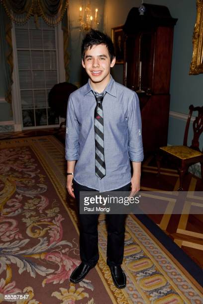 American Idol's David Archuleta attends the Children Uniting Nations 4th Annual National Conference Gala Dinner at the US Department Of State's...