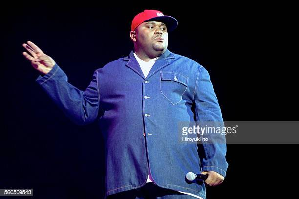 """""""American Idols Live"""" at Continental Airlines Arena in New Jersey on Wednesday night, July 30, 2003.This image:Ruben Studdard."""