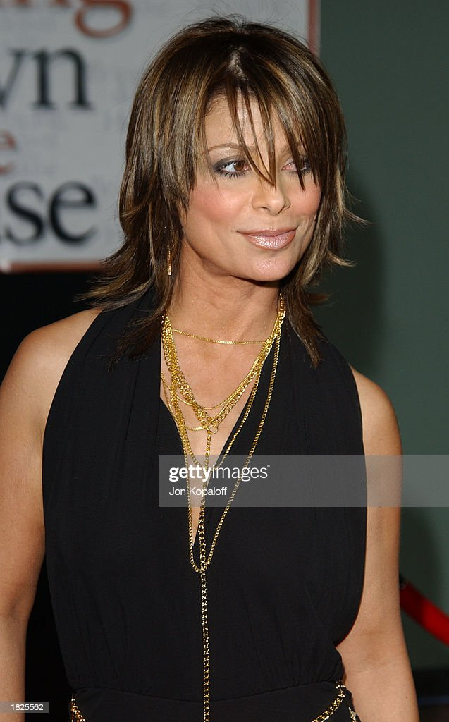 'American Idol's' Paula Abdul attends the premiere of 'Bringing Down The House' at the El Capitan Theater on March 2, 2003 in Hollywood, California.