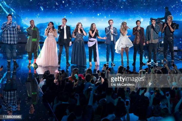 IDOL 214 American Idol's Top 10 contestants head to The Happiest Place On Earth Disneyland Park in Anaheim California to prepare for the next phase...