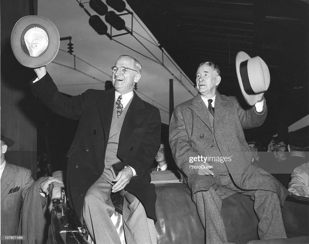 Truman & Barkley : News Photo