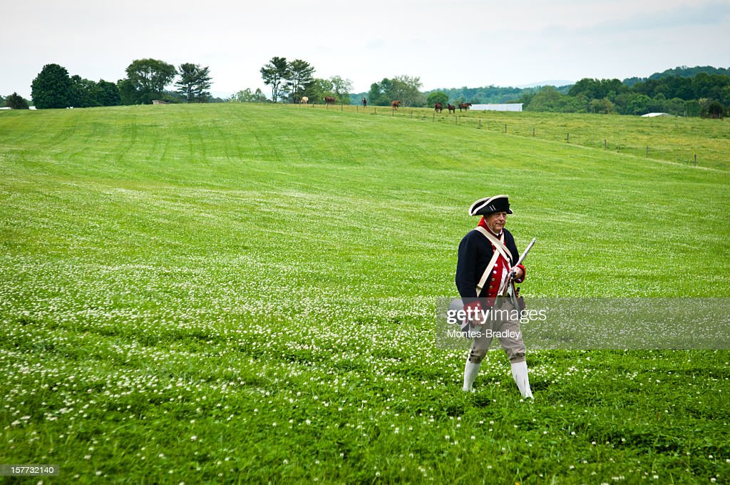American Independance Militia : Stock Photo