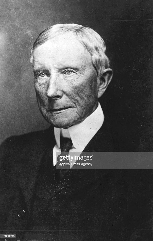 John D Rockefeller : News Photo