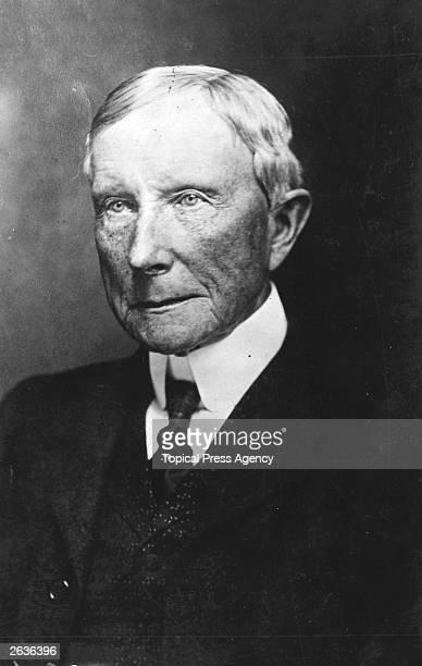 American industrialist and philanthropist John Davison Rockefeller