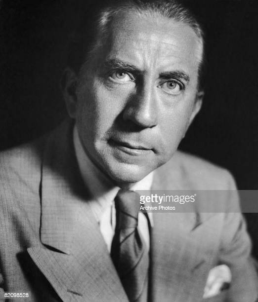 American industrialist billionaire J Paul Getty circa 1935