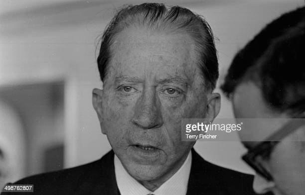 American industrialist J Paul Getty June 12th 1964
