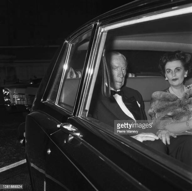 American industrialist J Paul Getty with British socialite Margaret Campbell, Duchess of Argyll , 14th December 1972.