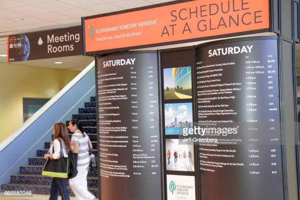 American Institute of Architects National Convention schedule