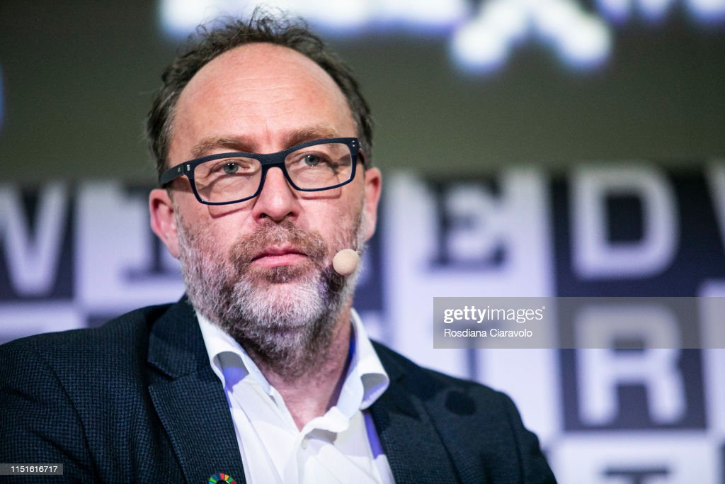 ITA: James Rollins and Jimmy Wales At The Wired Next Fest 2019
