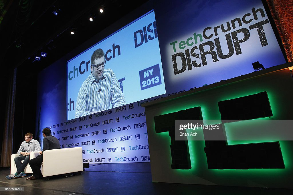 American internet entrepreneur and investor, Chris Dixon speaks onstage with Eric Eldon at the TechCrunch Disrupt NY 2013 at The Manhattan Center on April 29, 2013 in New York City.