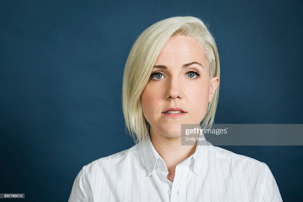 American internet personality, comedian, author and actress Hannah Hart is photographed for Buzzfeed on October 25, 2016 in Los Angeles, California.