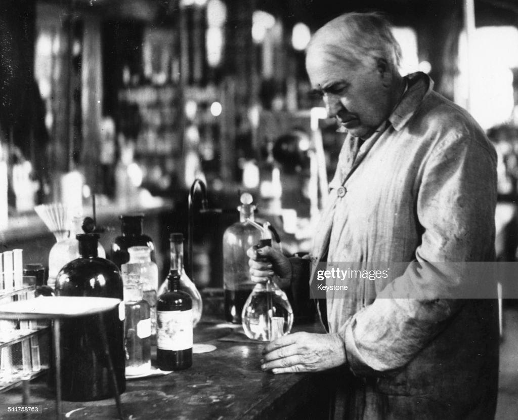Thomas Edison : Nyhetsfoto
