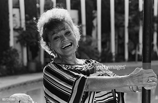 American jazz and big band singer, Kay Starr, poses during a 1988 Los Angeles, California, photo portrait session.