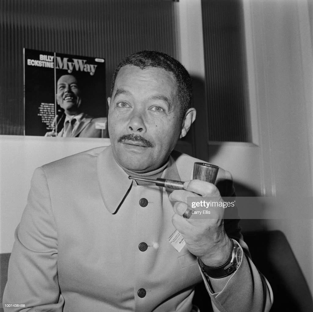 American jazz and pop singer Billy Eckstine (1914 - 1993), UK, 4th January 1969.