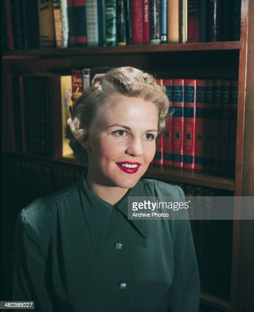 American jazz and pop singer Peggy Lee circa 1950