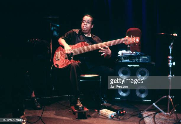 American jazz bassist Anthony Jackson performing at Copenhagen Jazz House Denmark July 2000
