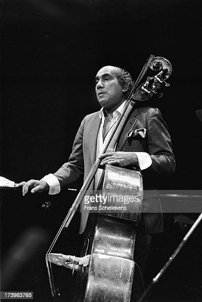 American jazz bassist Walter Booker performs at the BIM Huis in Amsterdam, Netherlands on 26th March 1989.