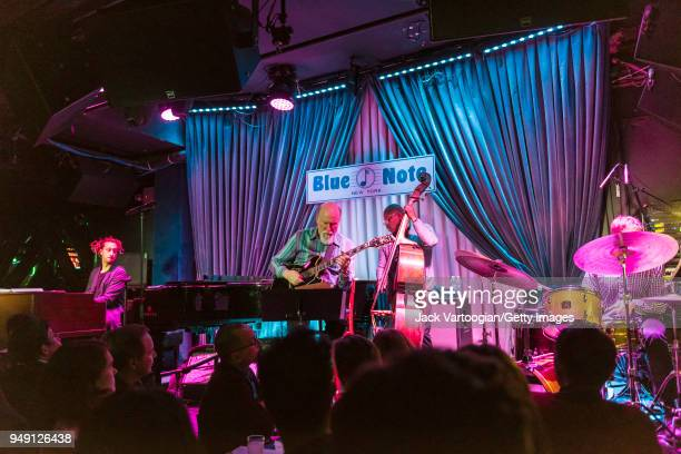 American jazz composer and guitarist John Scofield performs with his Combo 66 band with Gerald Clayton on piano and Hammond B3 organ Vicente Archer...