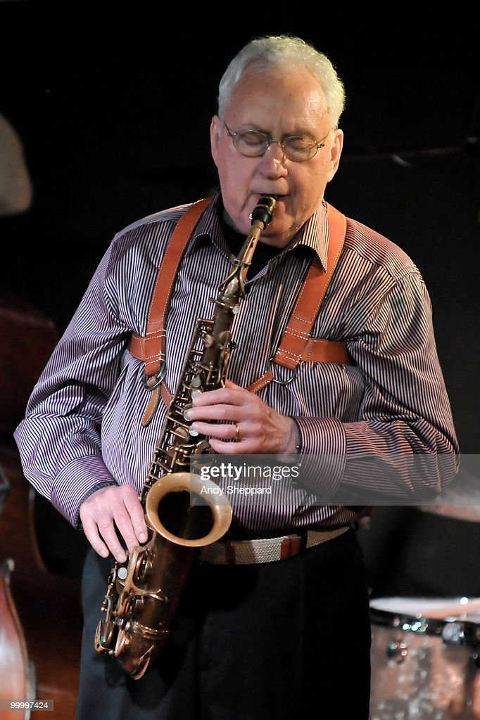 Lee Konitz Performs At The Pizza Express Jazz Club In London