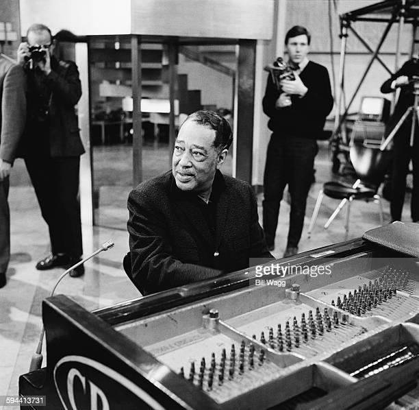 American jazz composer pianist and bandleader Duke Ellington circa 1960