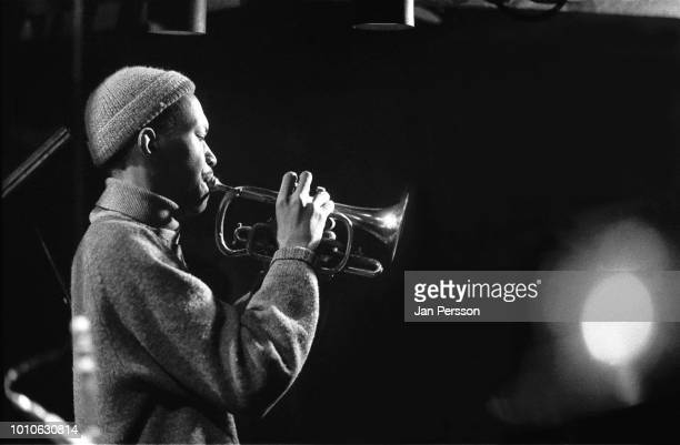 American jazz cornetist Don Cherry member of Dollar Brand Group Jazzhouse Montmartre Copenhagen 1965