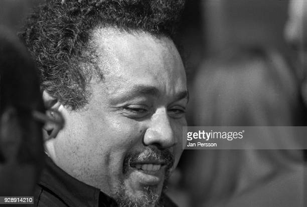 American jazz double bass player Charles Mingus at Berliner Jazz Tage Berlin Germany October 1970