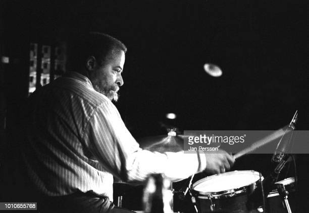 American jazz drummer Jimmy Cobb performing at Copenhagen Jazz House July 1990