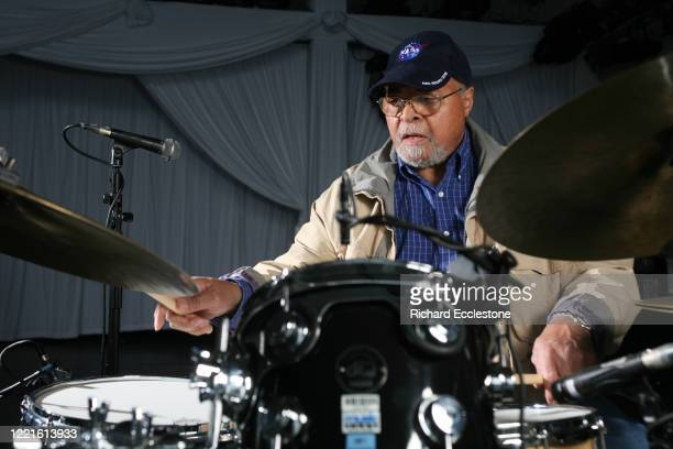 American jazz drummer Jimmy Cobb United Kingdom 2009 Cobb played on the Miles Davis album 'Kind Of Blue'