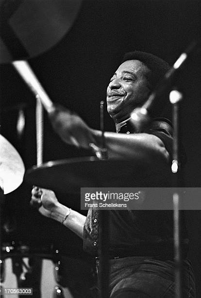 American jazz drummer Tony Williams performs at the BIM Huis in Amsterdam, Netherlands on 17th July 1988.