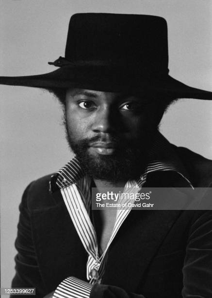 "American jazz fusion drummer Lenny White poses for a portrait on November 16, 1977. Lenny White has been called ""one of the founding fathers of jazz..."