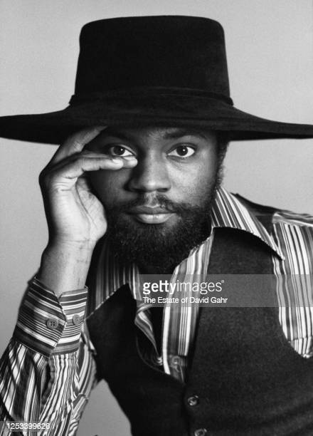 "American jazz fusion drummer Lenny White poses for a portrait on December 23, 1977. Lenny White has been called ""one of the founding fathers of jazz..."