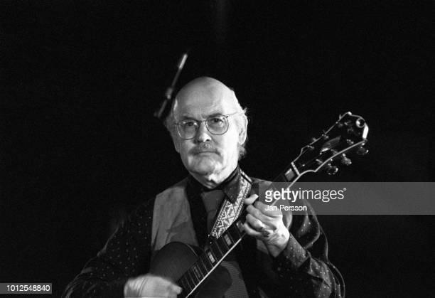 American jazz guitarist Jim Hall performing in Copenhagen Denmark 1991