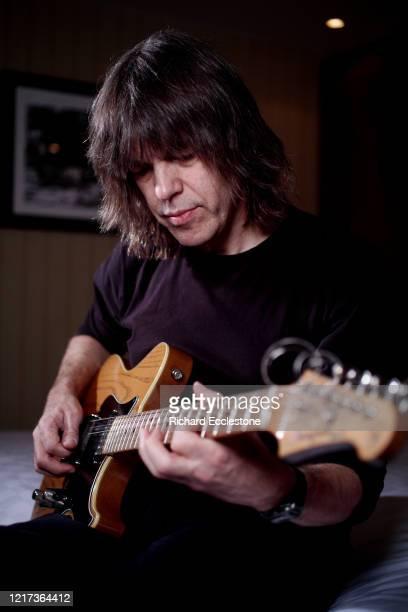 American jazz guitarist Mike Stern portrait London 2008