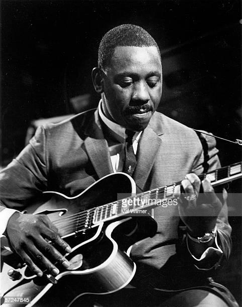 American jazz guitarist Wes Montgomery in concert circa 1960