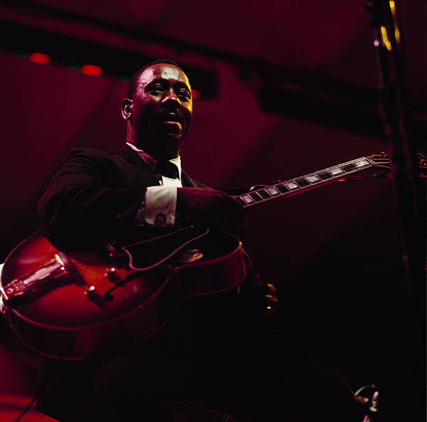 Wes Montgomery Performs On Stage At Newport Wall Art